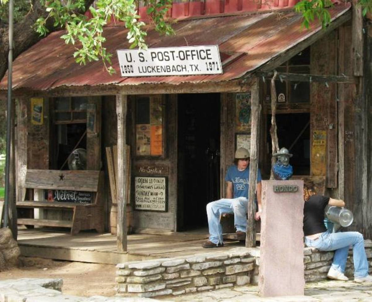 """Let's go to Luckenbach, Texas...with Willie Nelson and Waylon Jennings...and the boys!"""