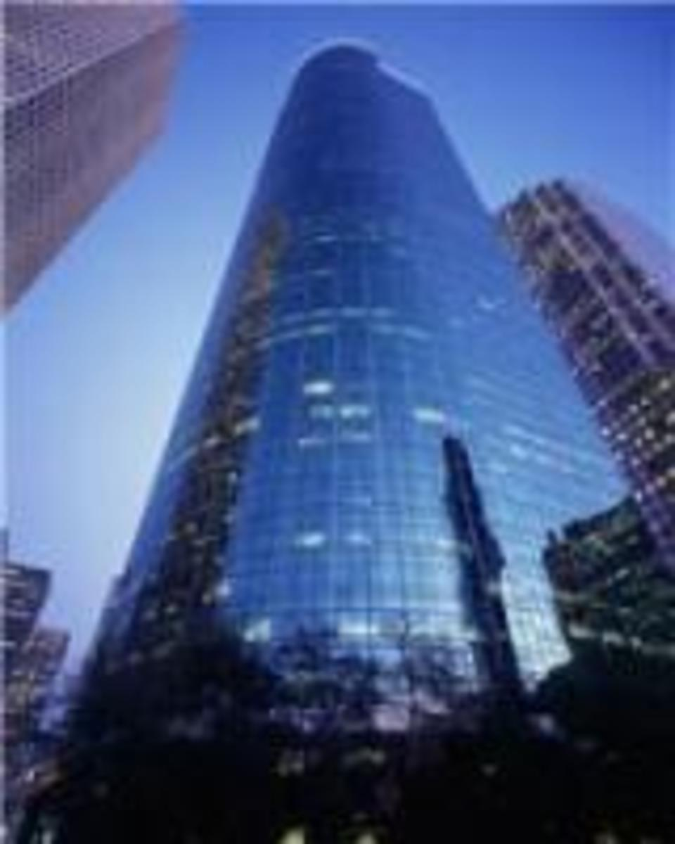 Wells Fargo Plaza Building, Downtown Houston, Texas