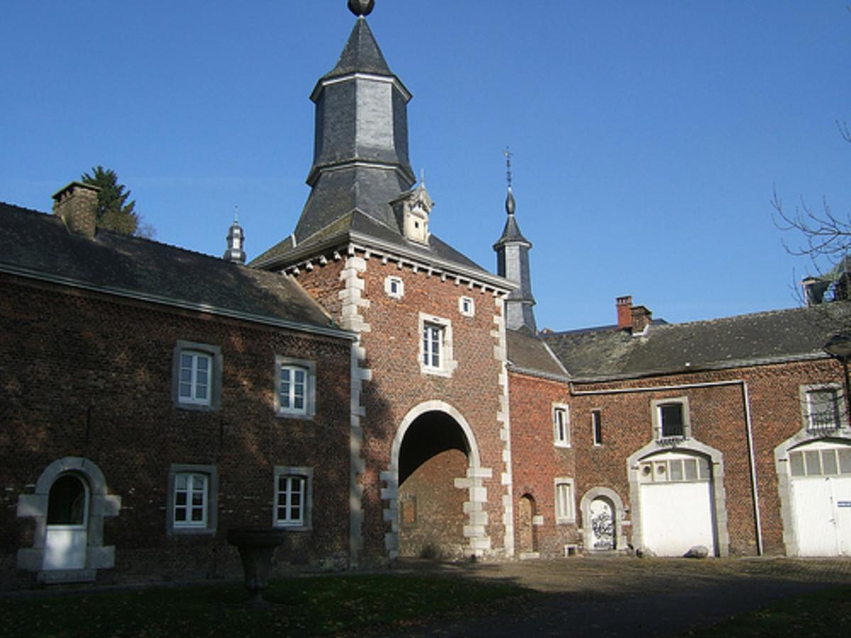 Monceau Castle, Charleroi, Belgium