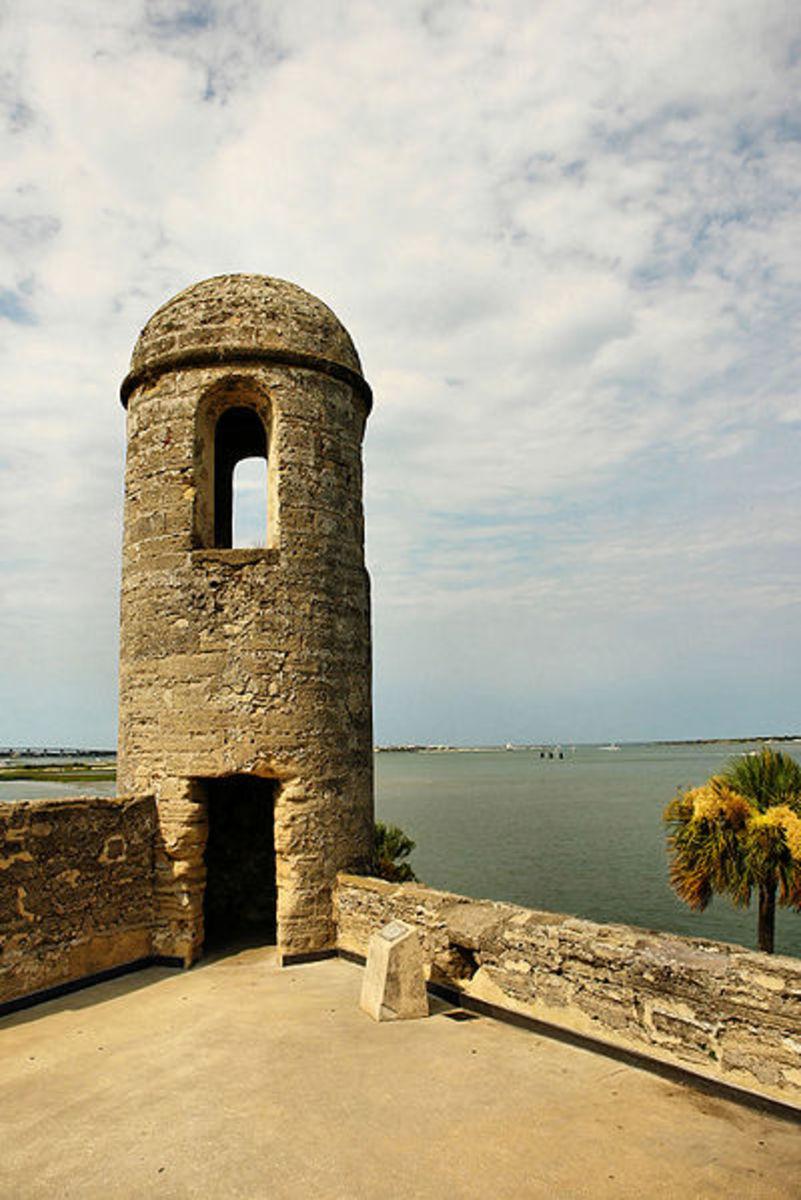 Watch Tower, Castillo de San Marco, San Augustine, Florida