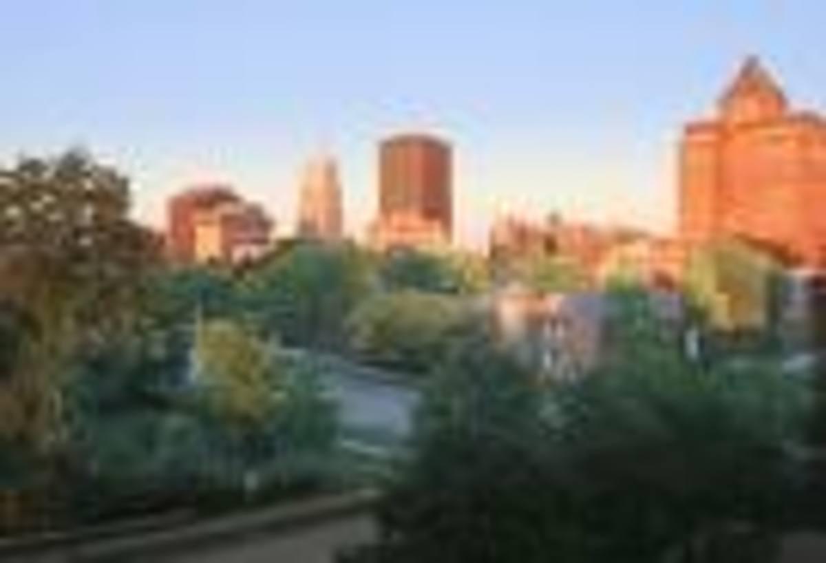 Beautiful Akron, Ohio...Where 1/2 of my family hails from...originally.