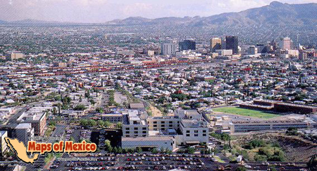 Ciudad-Juarez, Mexico...other side of the border from El Paso
