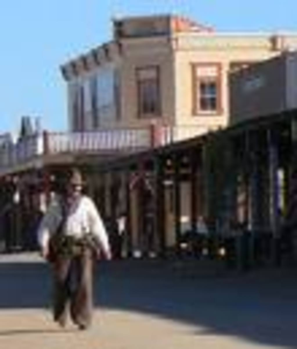 "Tombstone, Arizona...""Shoot-out at the OK Corral!"""