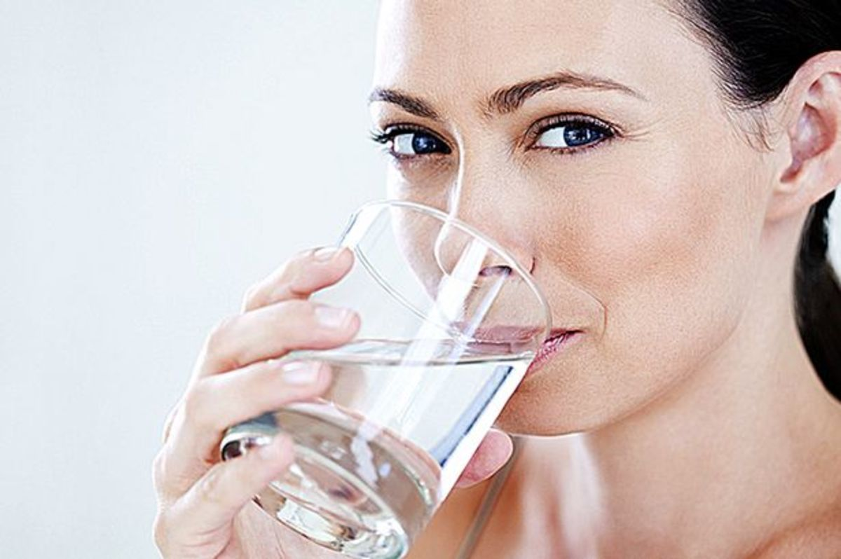 Depressed? Drink Water!