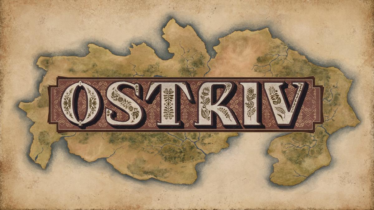 """The """"Ostriv"""" game logo."""