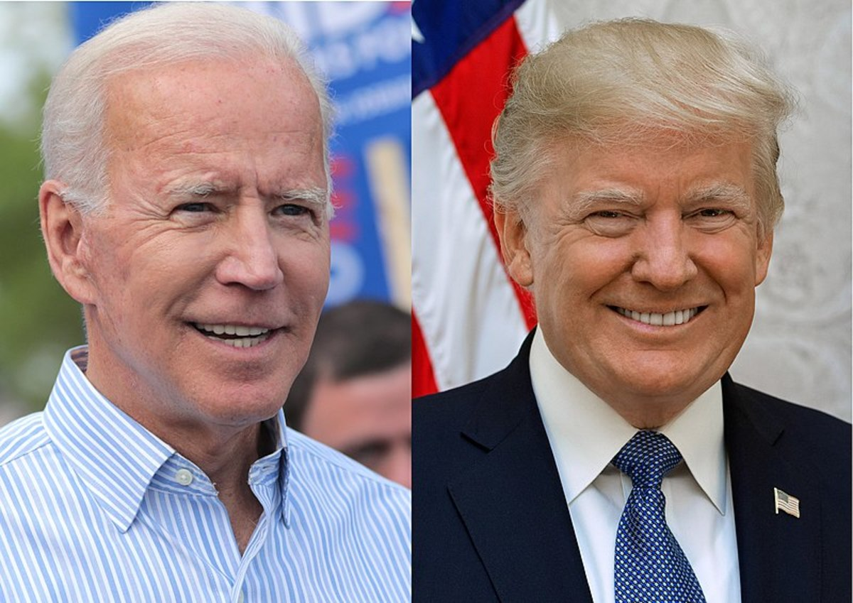 Biden vs. Trump: I never asked my women matches for whom they voted for ... or liked.  But, a number of women volunteered their opinions on the two politicians, up front.