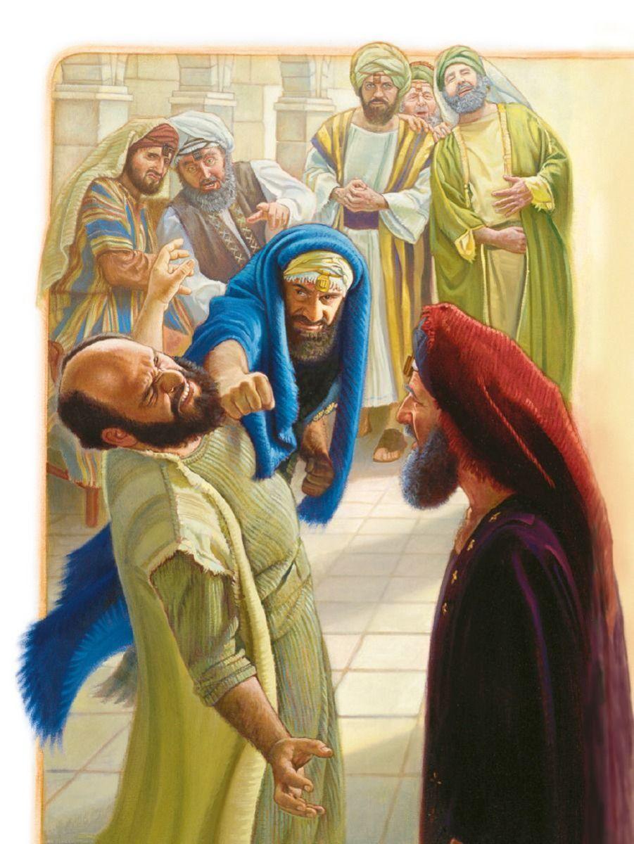 Apostle Paul smitten