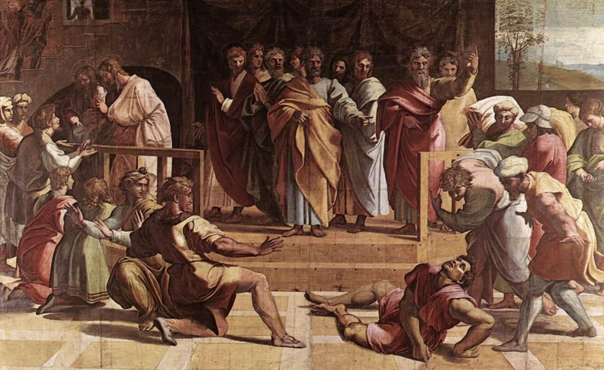 Ananias fell