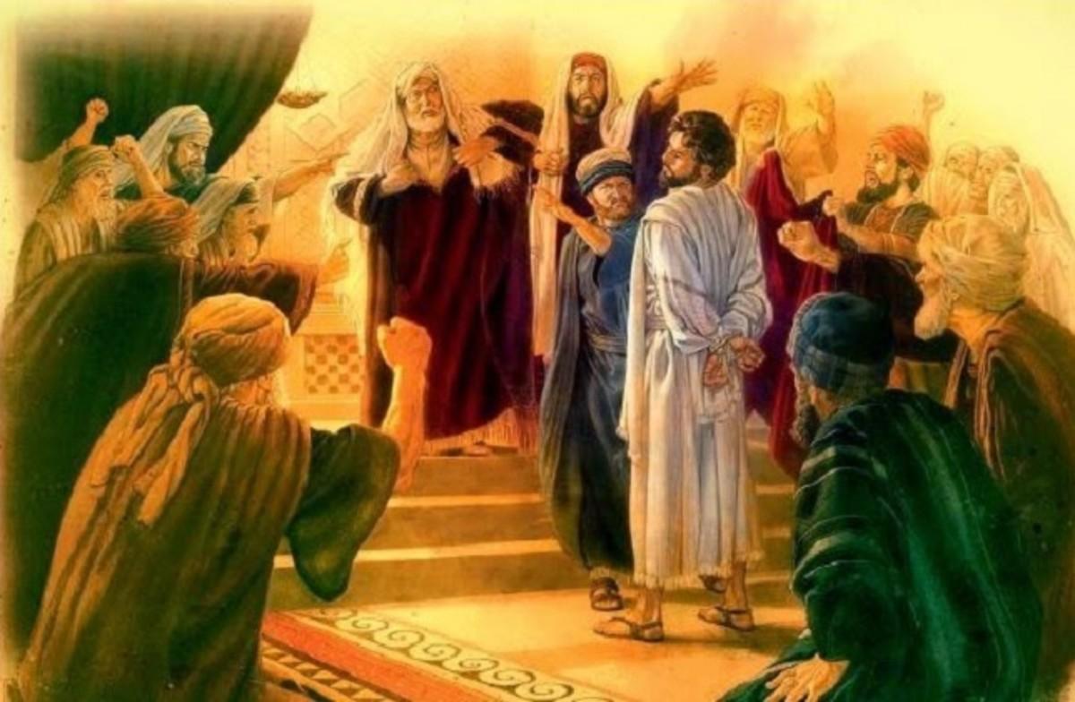 Apostle Paul before Ananias