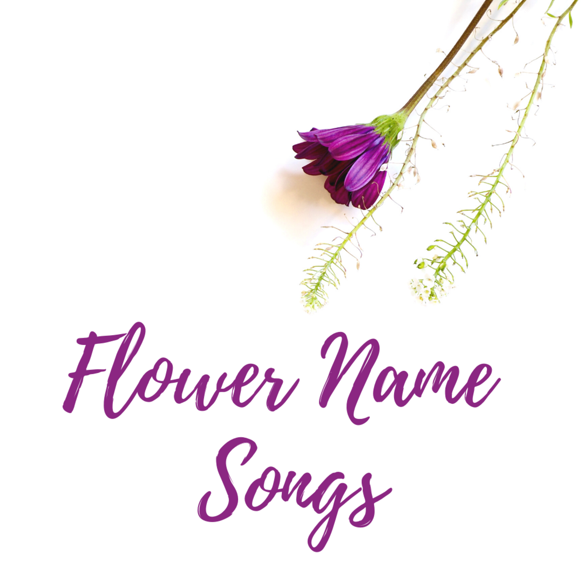 What are the best songs with flower names in the title? Read on to find out!