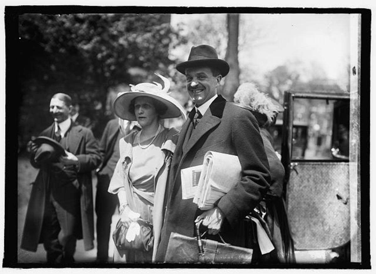 Waldorf and Nancy Astor in 1922.