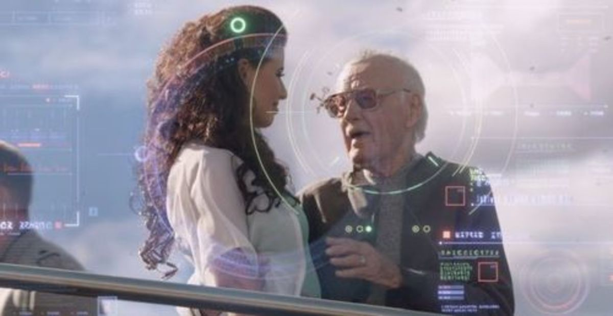 Stan Lee in Guardians of the Galaxy
