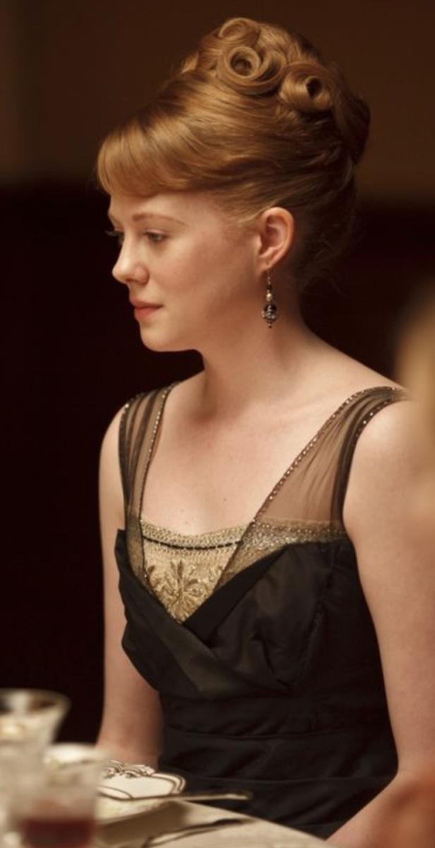 Zoe Boyle as Lavinia Swire, Downton Abbey Season 2