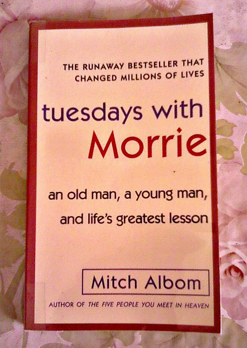 book review tuesdays with morrie Mitch albom's tuesdays with morrie drives home the importance of focusing on  the people and things we love, says our parent and teen.