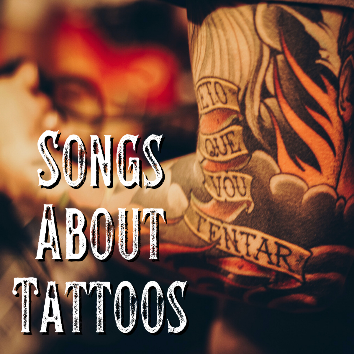 If you're one of the millions of people who see body art as a form of self-expression, then celebrate your body ink with a playlist of pop, rock, country, and R&B songs about tattoos.
