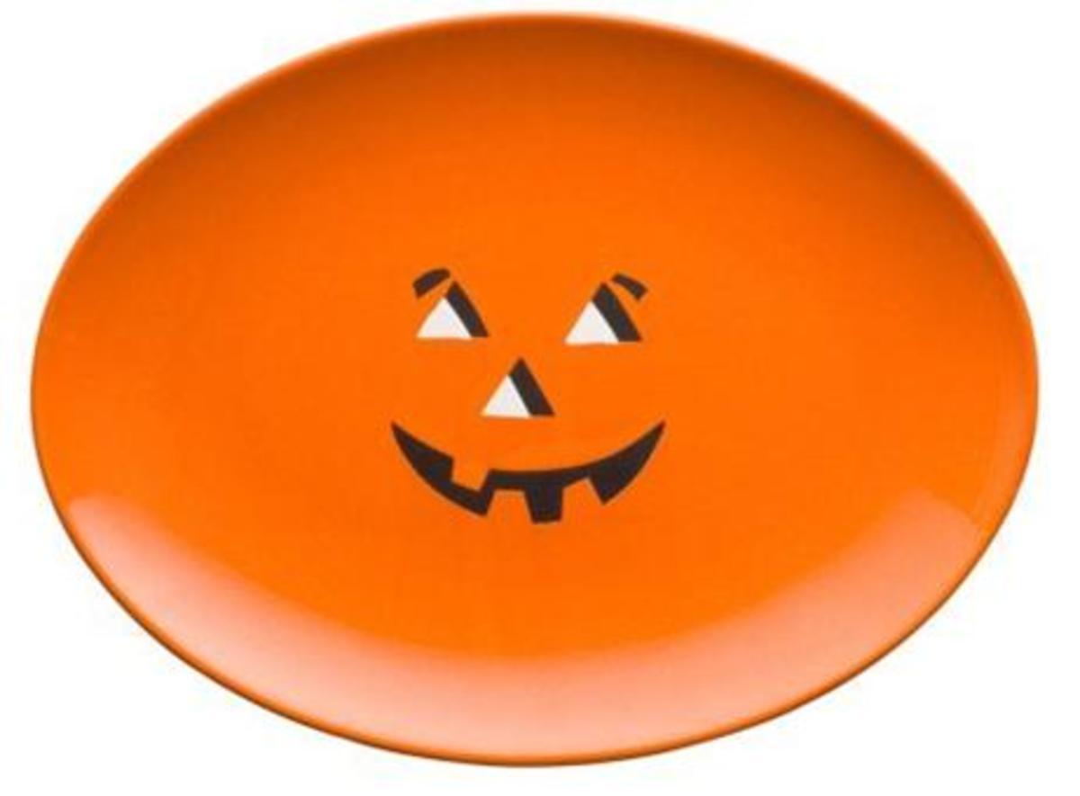 Waechtersbach Halloween Plate