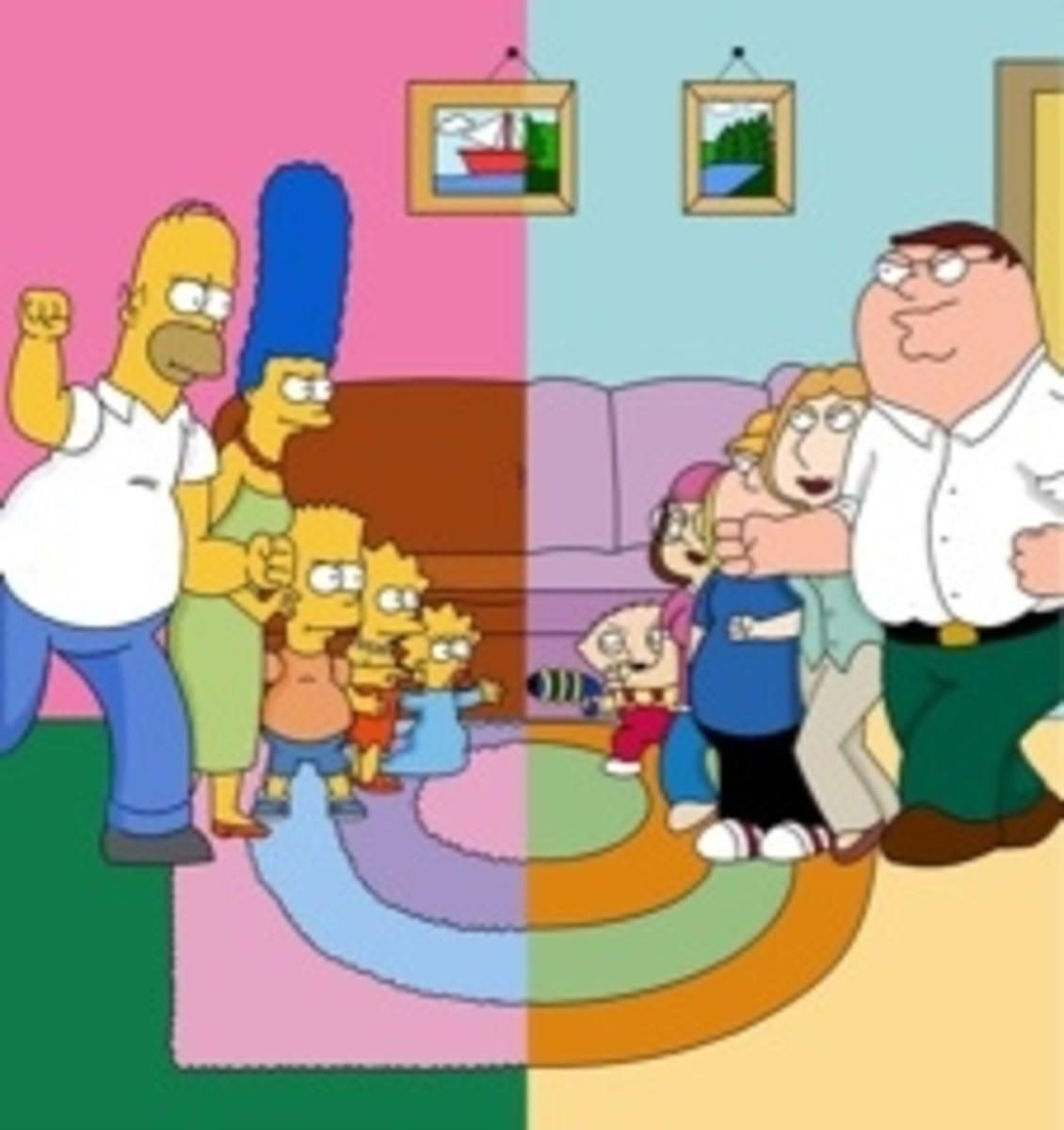 Family Guy vs The Simpsons