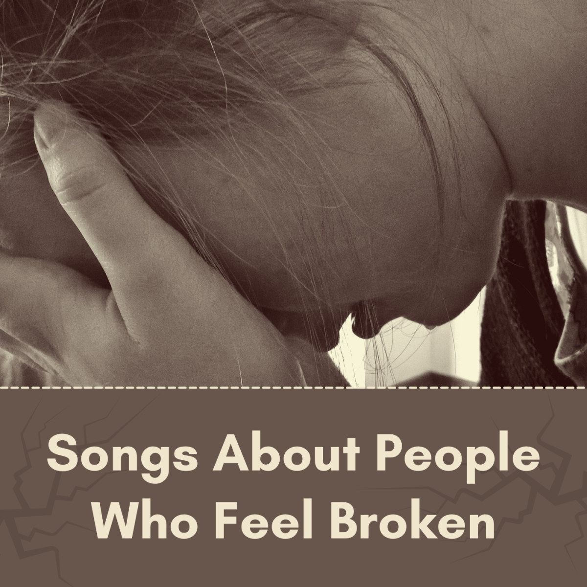 If you feel burned out, emotionally damaged, or like you've lost your way, you're not alone. Make a playlist of pop, rock, and country songs about people who feel broken. Remember that you're never beyond repair.