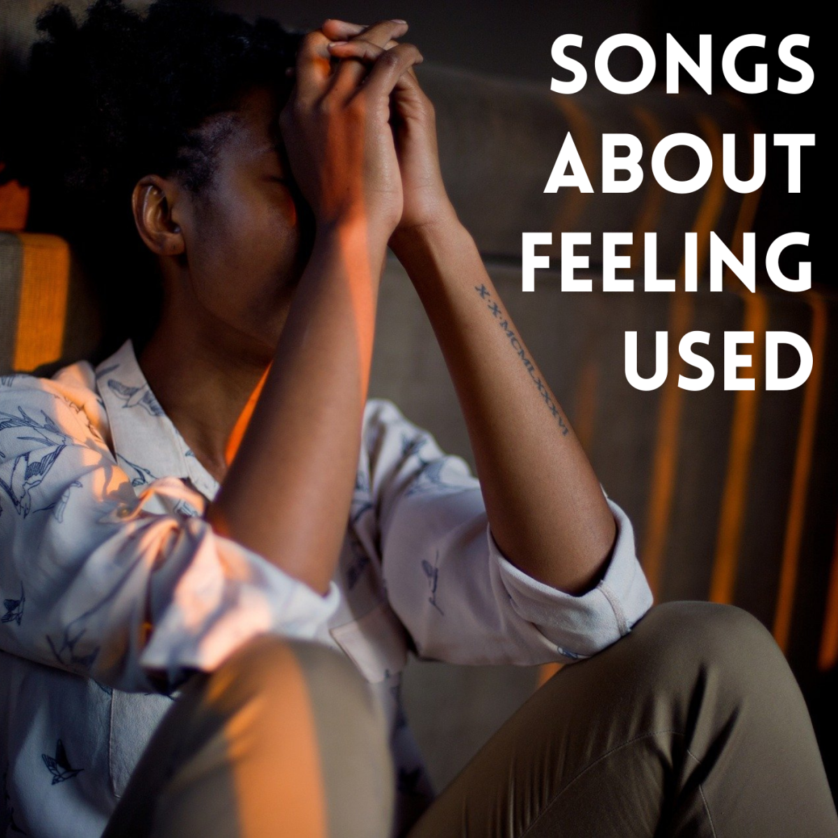 Feeling used, exploited, taken advantage of by a lover? As you decide what to do about it, make a playlist of pop, rock, country, and R&B songs about feeling manipulated in relationships.