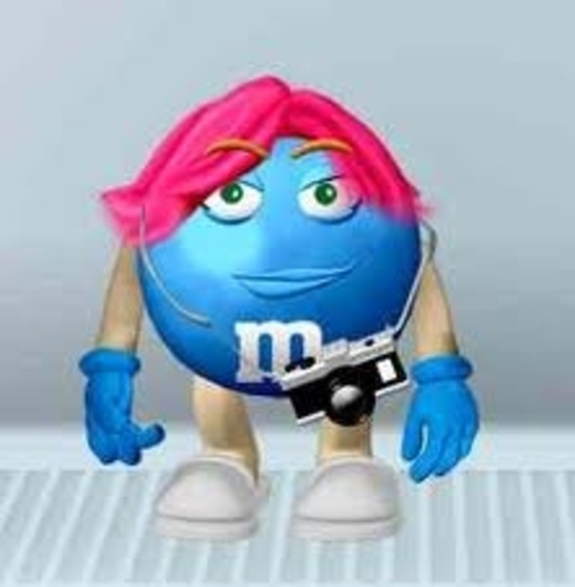 Make Your Own Blue M&M Character