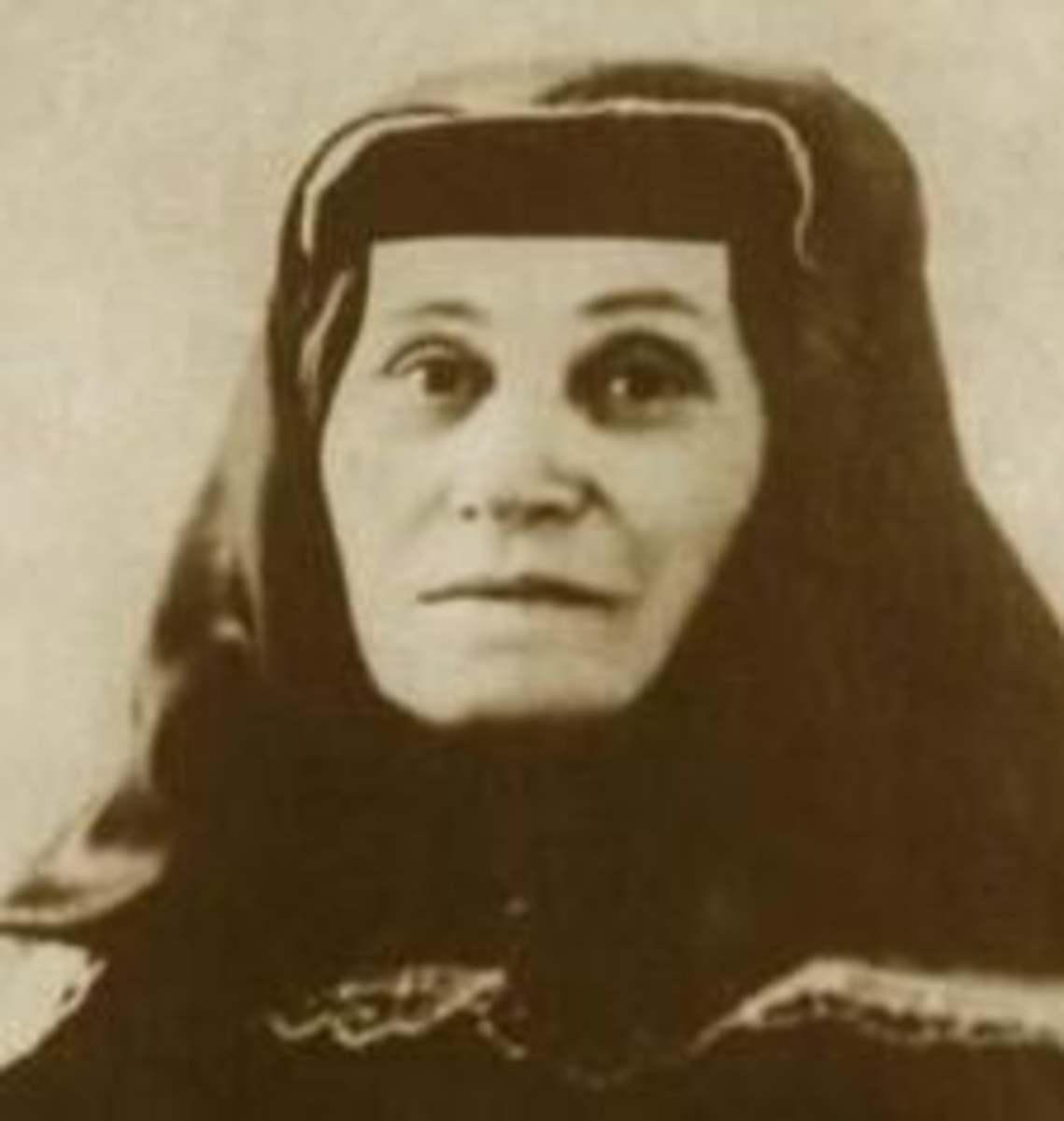 Stalin's mother, Ketevan Geladze, 1892.