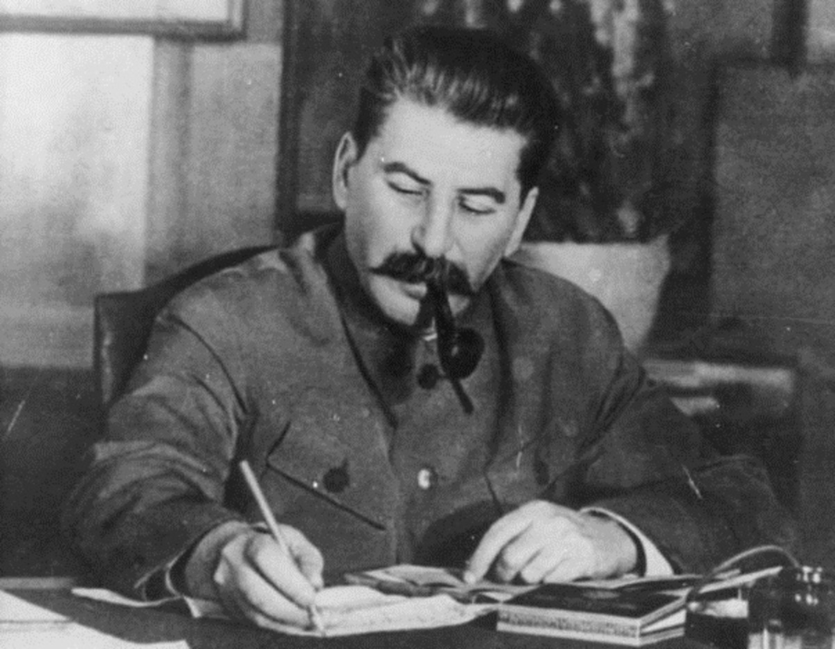 Stalin signed numerous death warrants.
