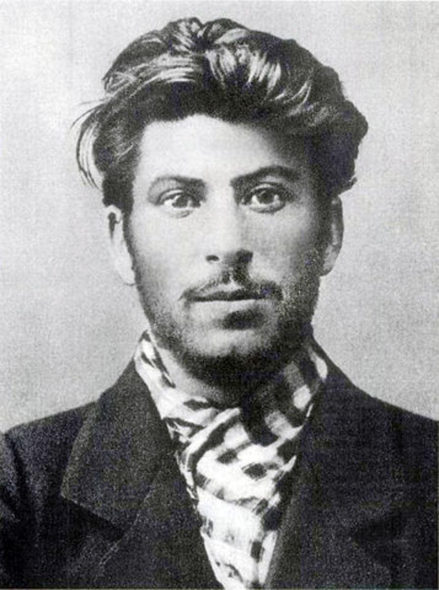 Joseph Stalin, aged 23.