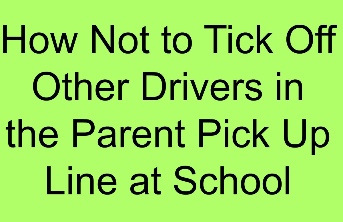How Not to Tick Off other Parents in the Pick Up Line