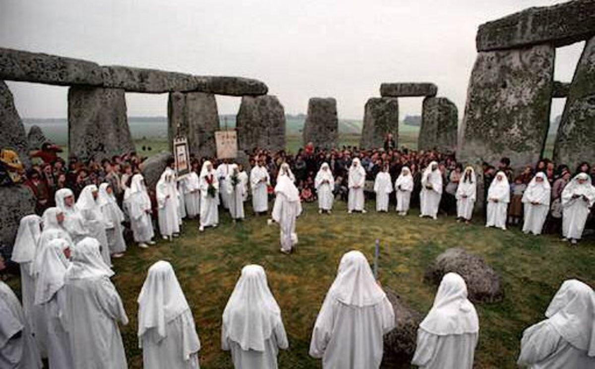 Perhaps the Druids were here.