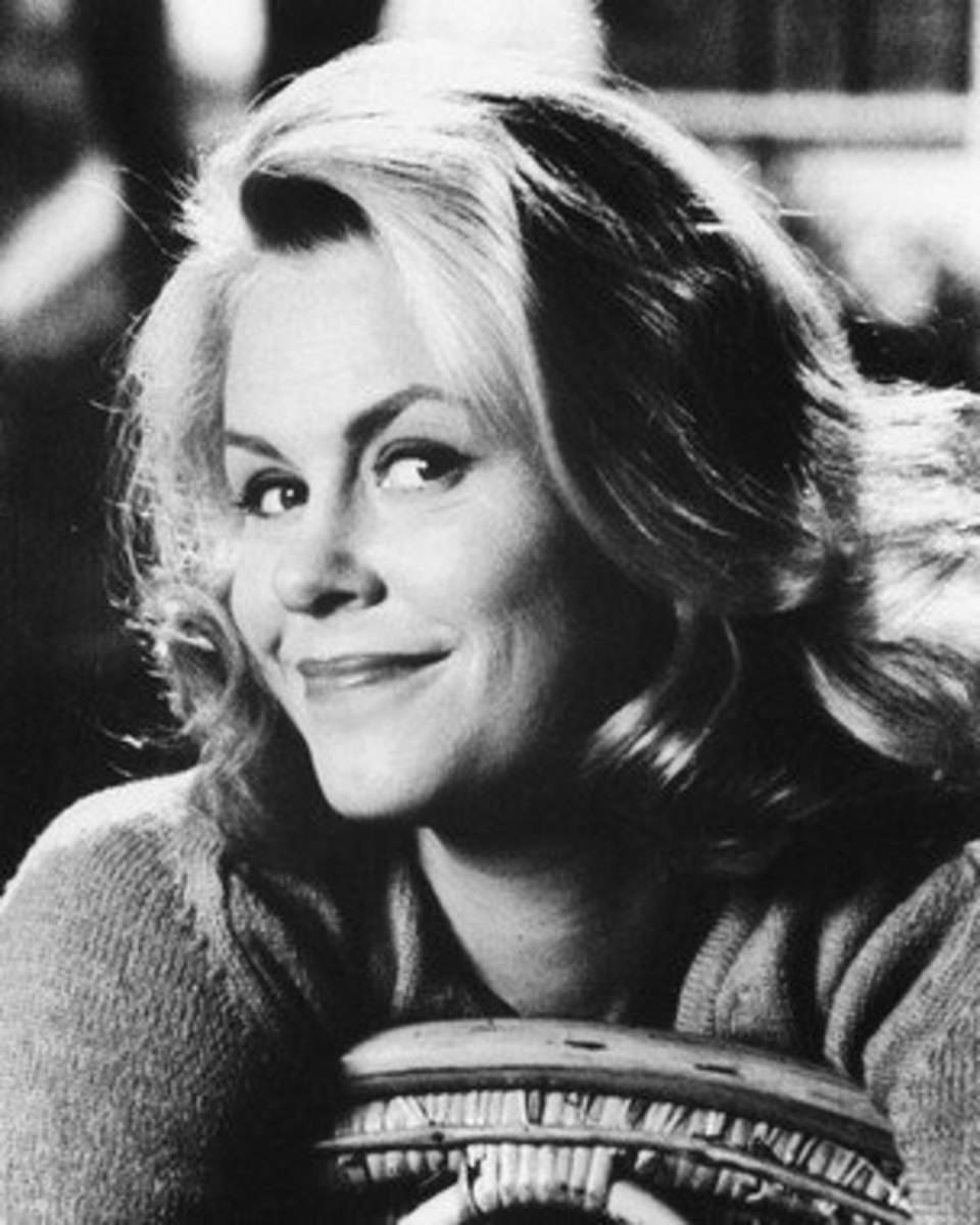 Samantha made twitching your nose hot from Bewitched, this photo is out of print but  IconCentral has it.