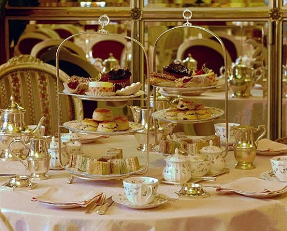 Afternoon Tea at the Ritz Hotel, London
