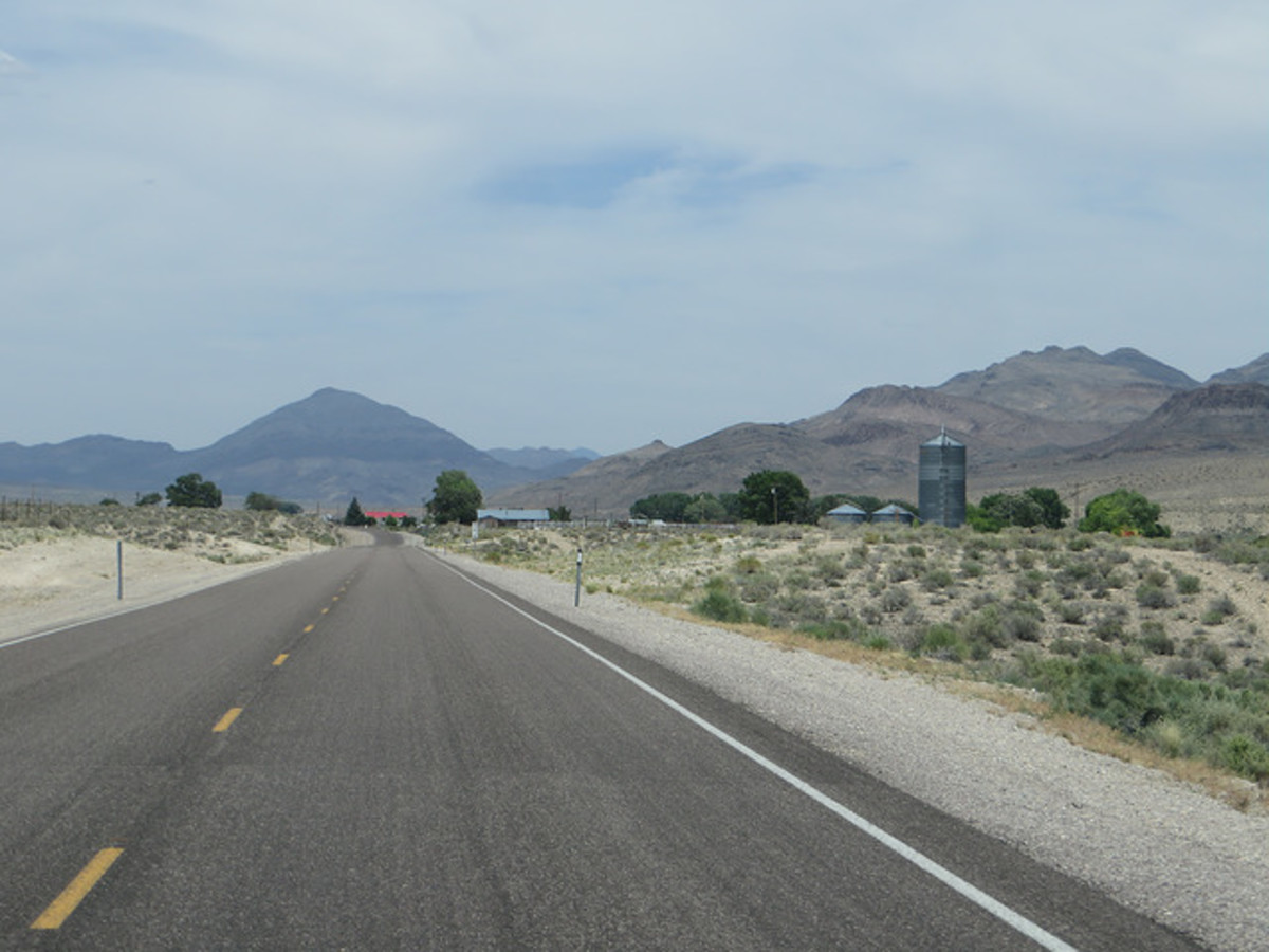American Southwest Desert town