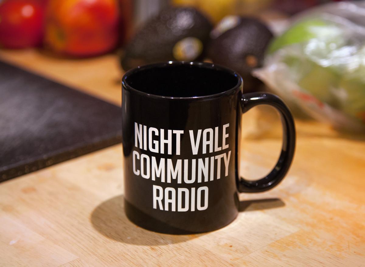 WTNV Community Radio mug