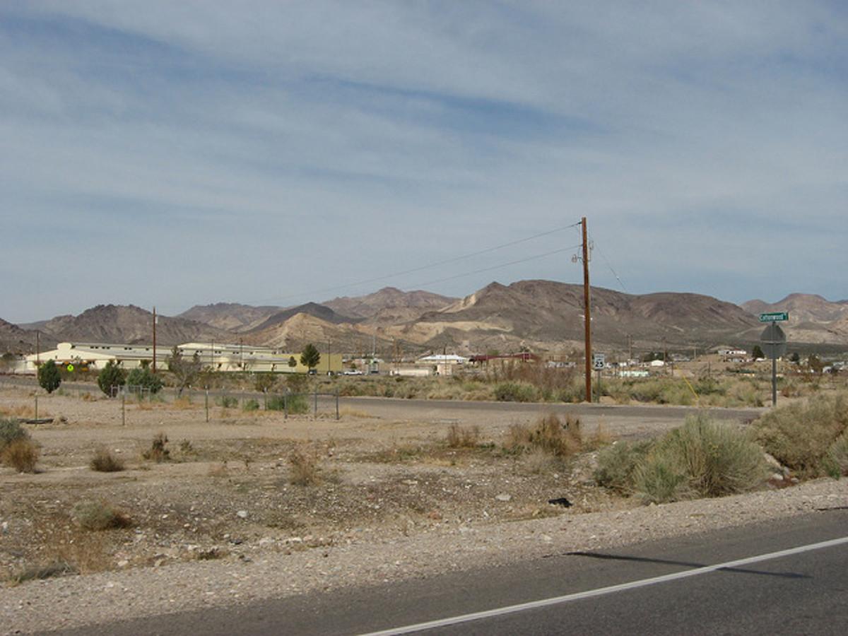 Town in the desert