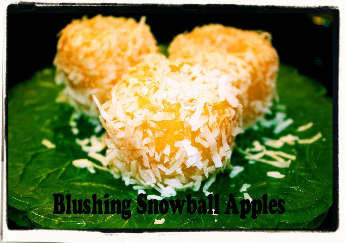 Blushing Snowballs coconut version