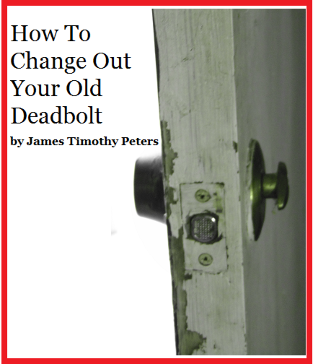 Replacing a deadbolt lock is easier than you think.