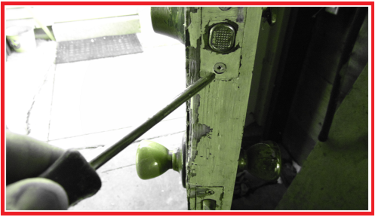 Most deadbolt locks come with Phillips screws, however, standard screws can and have been used.