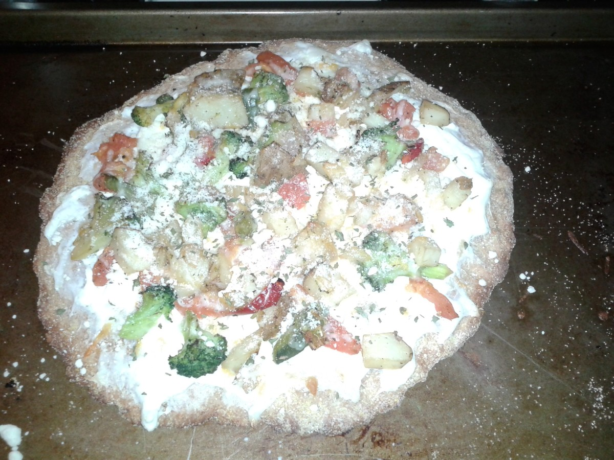 Bake, and top with grated parmesan cheese