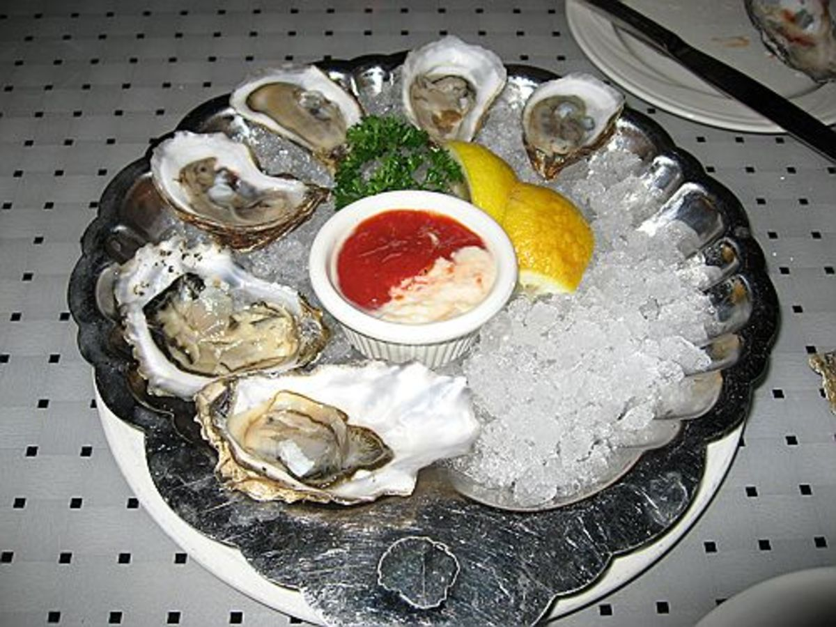 Raw Oysters On The Half Shell Are Oh So Delicious