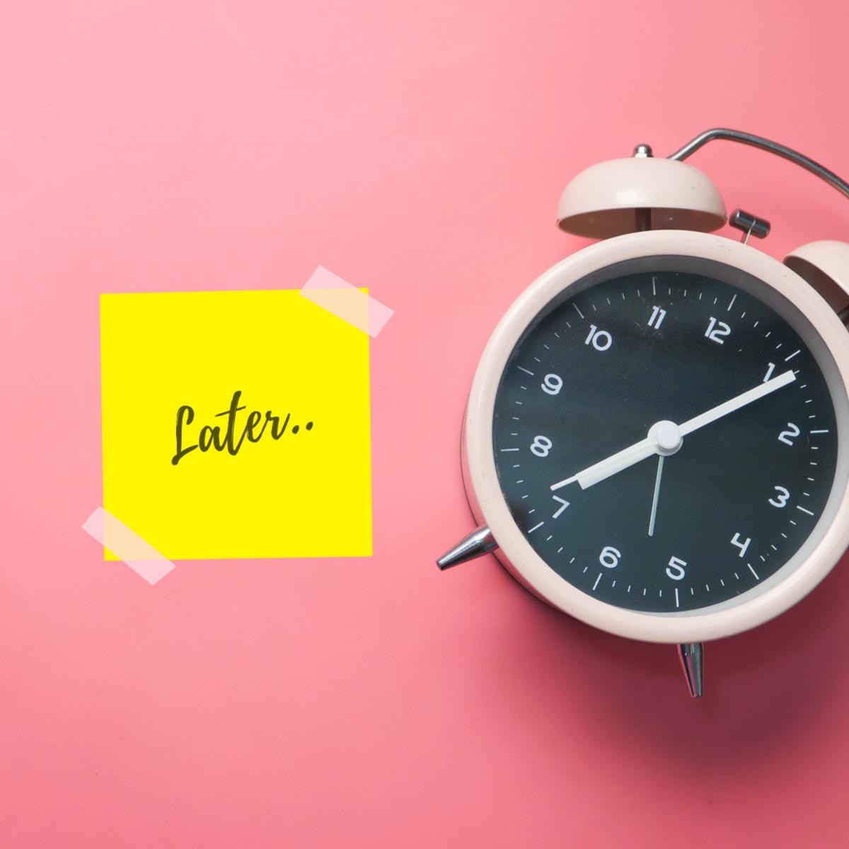 6 Ways to Stop!Procrastinating.