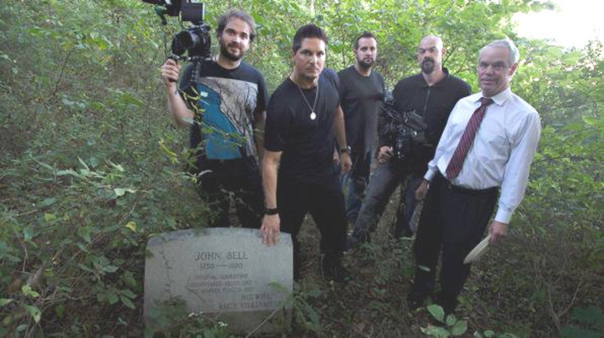 Travel Channel's Ghost Adventures On Site Touring The Bell Witch Cave With Descendent Robert Bell