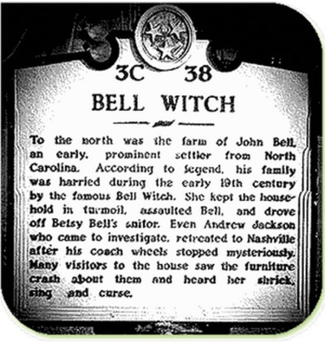 The Bell Witch Cave Haunted Tennessee