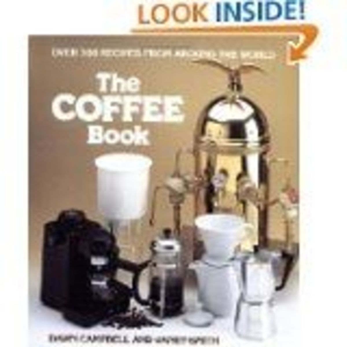 Learn About Making Coffee With The Coffee Book.  Photo Credit Amazon You Can Find The Book On This Page.