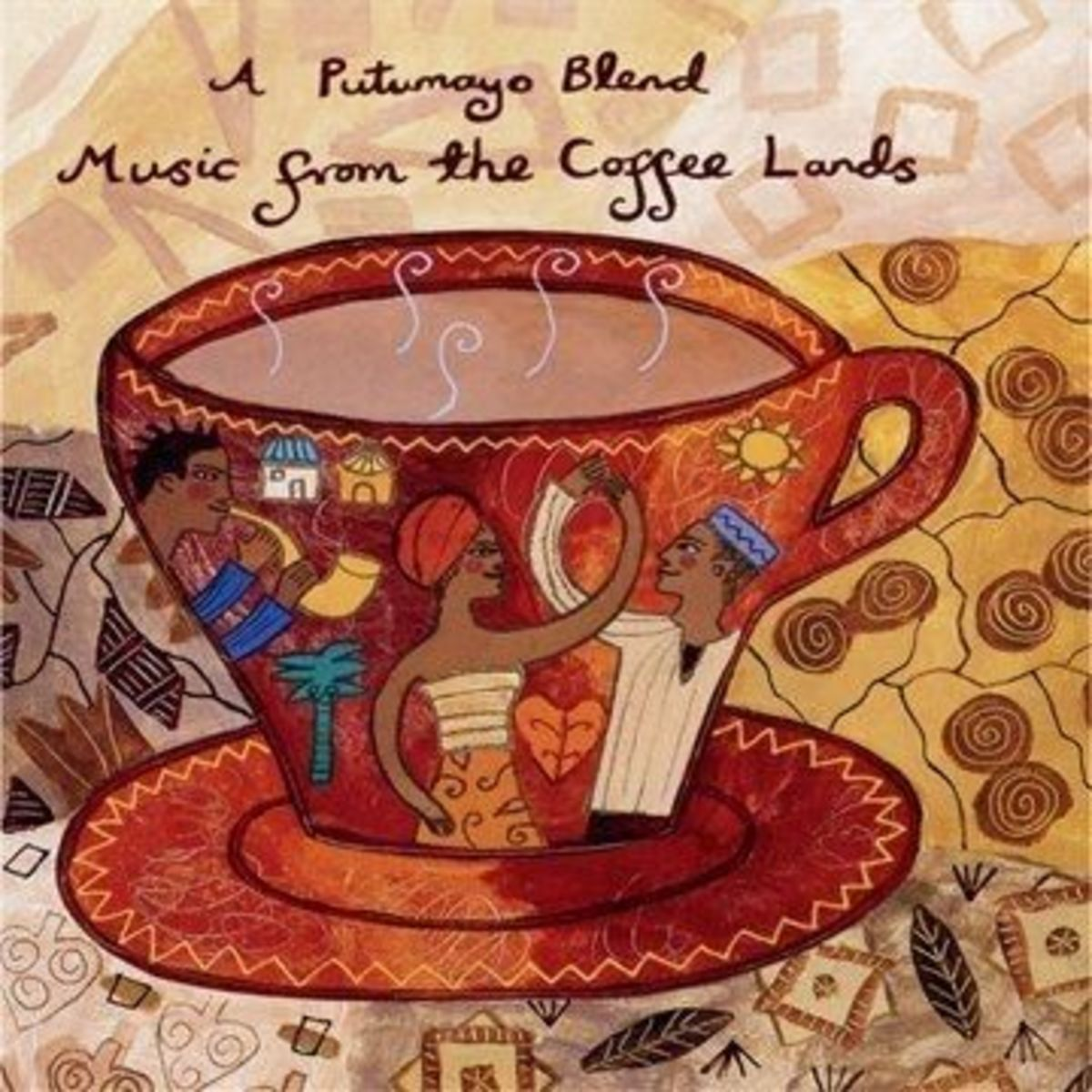 This Is A CD From Places Coffee Comes From - Find it at Amazon.