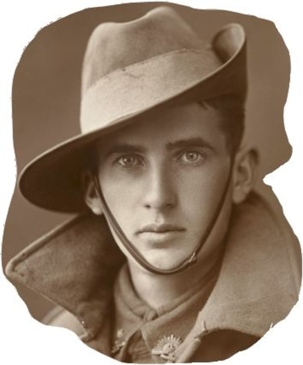 A Poem To Lost Australian Soldiers. My Handsome Aussie Soldier Haiku.