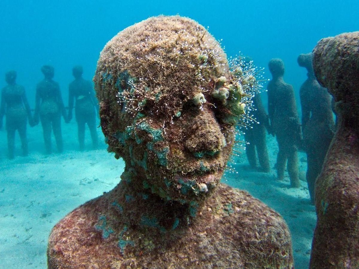 Underwater (ocean) Sculpture Park: Now with more pictures.