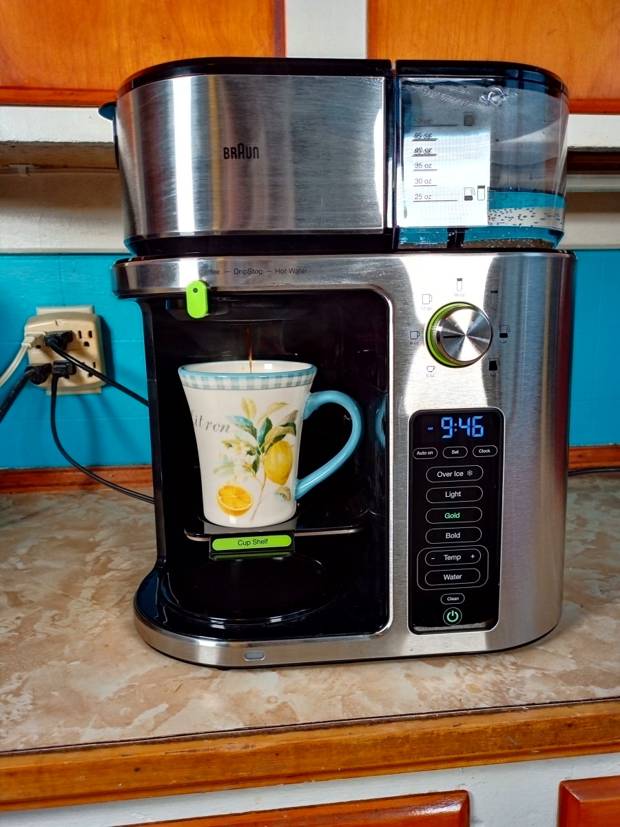 Review of the Braun MultiServe Coffee Machine