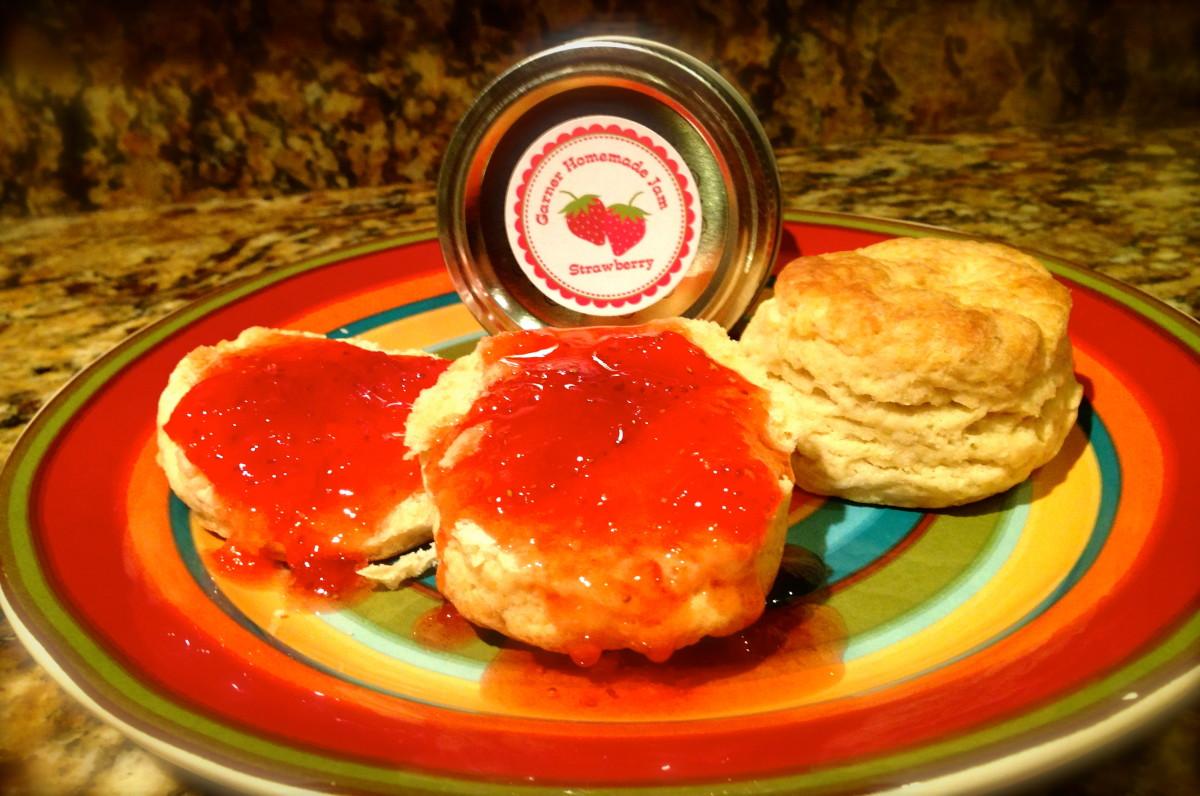 Garner Homemade Strawberry Jam