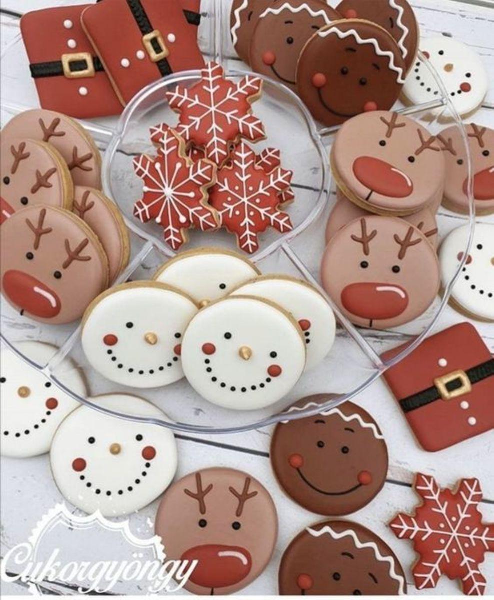 Easy to Make Christmas Sugar Cookies