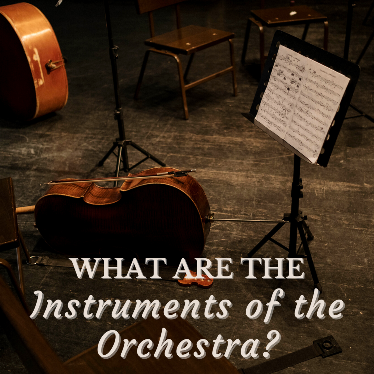 Strings, woodwinds, brass, and percussion—what are all the instruments that make up an orchestra?